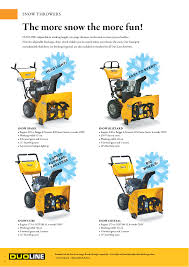 the more snow the more fun snow thrower s stiga snow throwers