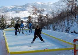 How To Make An Ice Rink In Your Backyard Backyard Ice Rink Kit
