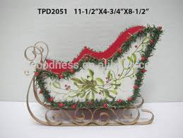 sleigh sled decoration ornamental container pot buy