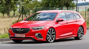 opel usa opel insignia gsi wagon spied without any camo