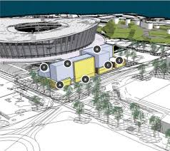 Cape Town Stadium Floor Plan by Granger Bay Site Adjacent To Cape Town Stadium Planned For Mixed