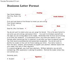 awesome cover letter format example professional business template