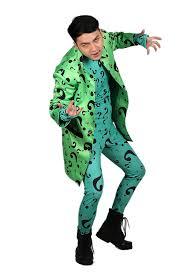 halloween body suit amazon com xcoser riddler coat with zentai bodysuit costume