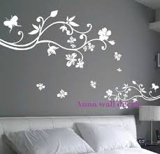 wall decor stickers cheap top 25 best flower wall stickers ideas