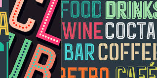 art deco inspired free font bypeople