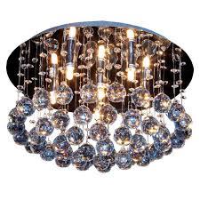 Wohnzimmer Lampe 6 Flammig S Luce Kristall Deckenleuchte Mit Ca 200 Glaskristallen Blaze 6