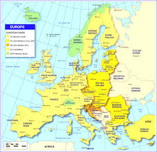 Map Of Romania In Europe by Europe Single States Political Map All Countries In Different