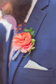 coral boutonniere 321 best boutonnière images on groom attire