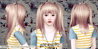 sims 3 hair custom content anime hairstyles for sims 3 hair
