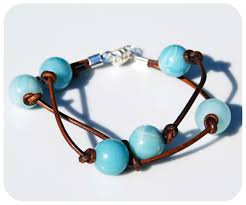 make bracelet with leather cord images Leather cord bracelets make bracelets jpg