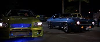 fast and furious evo image lancer evo vs yenko camaro png the fast and the furious