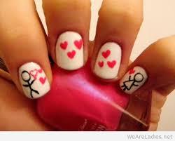 romantic nails for valentine u0027s day
