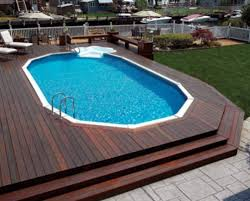how to come up with above ground pool with decks yonohomedesign com