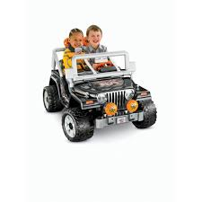 power wheels jeep hurricane green power wheels black tough talkin u0027 jeep 12 volt battery powered ride
