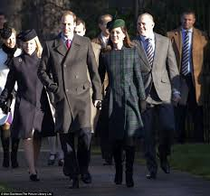 the kate middleton and prince william attend royal church
