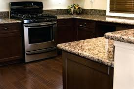baltic brown granite countertops with cherry cabinets kitchen tile