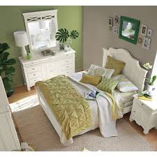 American Signature Furniture Bedroom Sets by Plantation Cove 6 Piece King Panel Bedroom Set With Door