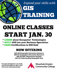 gis class online news mountain empire community college