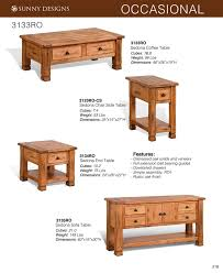 Sofa Table Oak by Prices U2022 Sunny Designs Sedona Occasional Tables U2022 Al U0027s Woodcraft