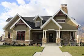 ranch style home interior exterior craftsman with exterior stone