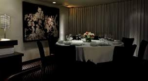 semi private salon interior of tru restaurant chicago illinois