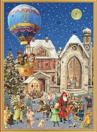 german christmas advent calendars greeting cards my growing