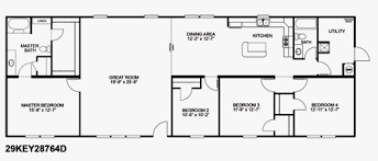 Double Wide Homes Floor Plans Doublewide Home Floor Plans Castle Homes Modular Home Dealer In