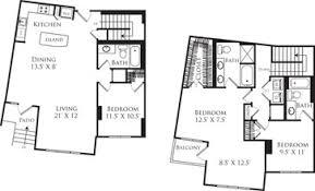Arlington House Floor Plan Vista On Courthouse Arlington Va Apartment Finder