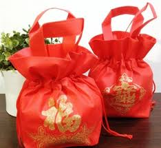 bag new year qoo10 new year gift wrap shopping bag recycled non woven