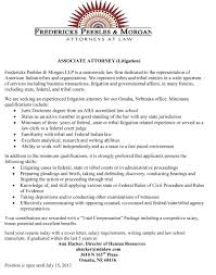 Associate Attorney Resume Sample by Associate Attorney Resume Free Resume Example And Writing Download