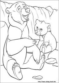 printable brother bear hug coloring pages color art works