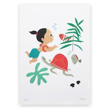poster chambre fille ce poster pour décorer la chambre de votre enfant représente une