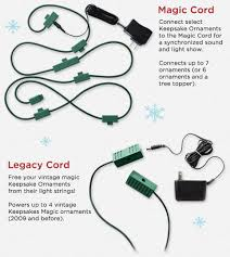 2017 hallmark keepsake ornament legacy cords and magic cords