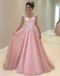 dress pink pink chiffon lace prom dress pink evening dress formal dress