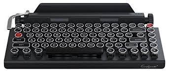 amazon keyboard black friday amazon com qwerkywriter typewriter wireless mechanical keyboard
