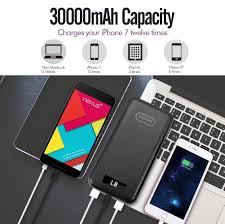 Capacity Imuto 30000mah Ultra High Capacity Portable Charger Amazon Co Uk