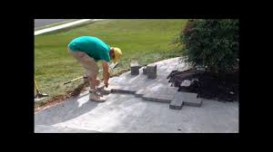 Patterns For Patio Pavers by How To Install Hanover Architectural Products Pavers 6x6 U0026 6x9