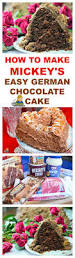 to make mickey u0027s easy german chocolate cake