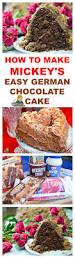 to make mickey u0027s easy german chocolate cake