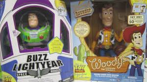 toy story talking toy dolls buzz lightyear sheriff woody