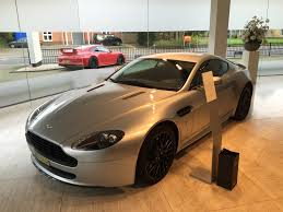 aston martin showroom delivery of my silver v8 vantage aston martin com