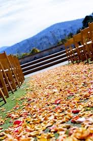Fall Wedding Table Decor 57 Fall Wedding Aisle Decor Ideas Happywedd Com