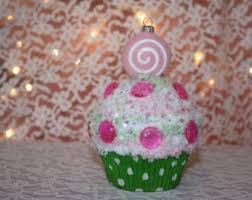 cupcake ornament etsy