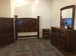 derksen rustic hickory bedroom suite wheatstate wood design