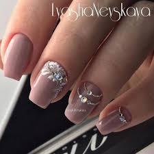 Rhinestone Nail Design Ideas маникюр дизайн ногтей Rhinestone Nail Design Nails
