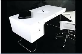Computer Desk White Gloss Desk Milan White Simple Computer Desk For Small Spaces White