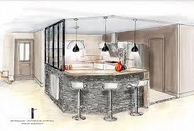 verriere interieur cuisine réalisations décoration et relooking d une cuisine avec verrière