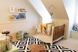 Nursery Area Rugs Baby Room by Attic Unisex Baby Nursery With Stylish Bedding And Area Rug