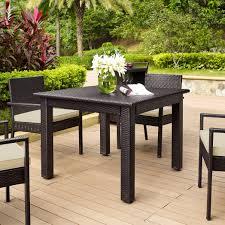 coral coast berea outdoor wicker folding cafe table hayneedle