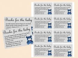 bring a book instead of a card poem baby shower baby shower bring a book instead of a card fox book